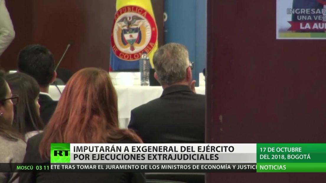La Fiscalía General de Colombia imputará a un exgeneral del Ejército por ejecuciones extrajudiciales