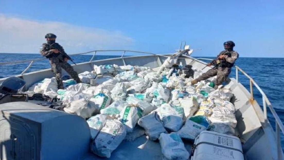 Incautan frente a las costas de El Salvador cocaína valorada en unos 35 millones de dólares