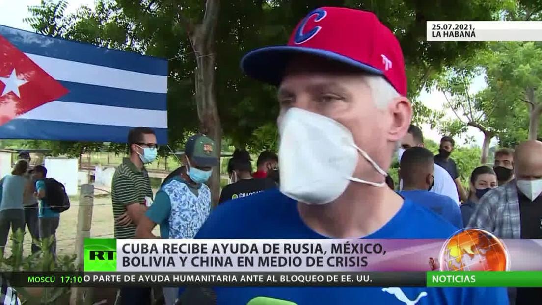 Cuba recibe ayuda de Rusia, México, Bolivia y China en medio de la crisis