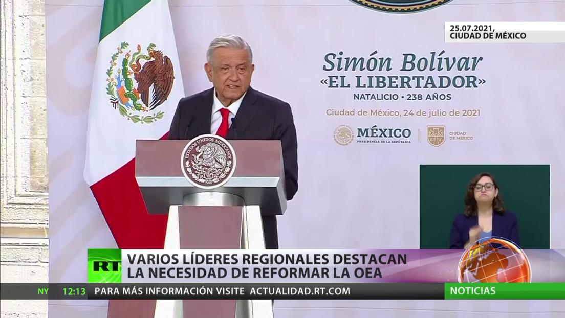 Varios líderes latinoamericanos destacan la necesidad de reformar la OEA