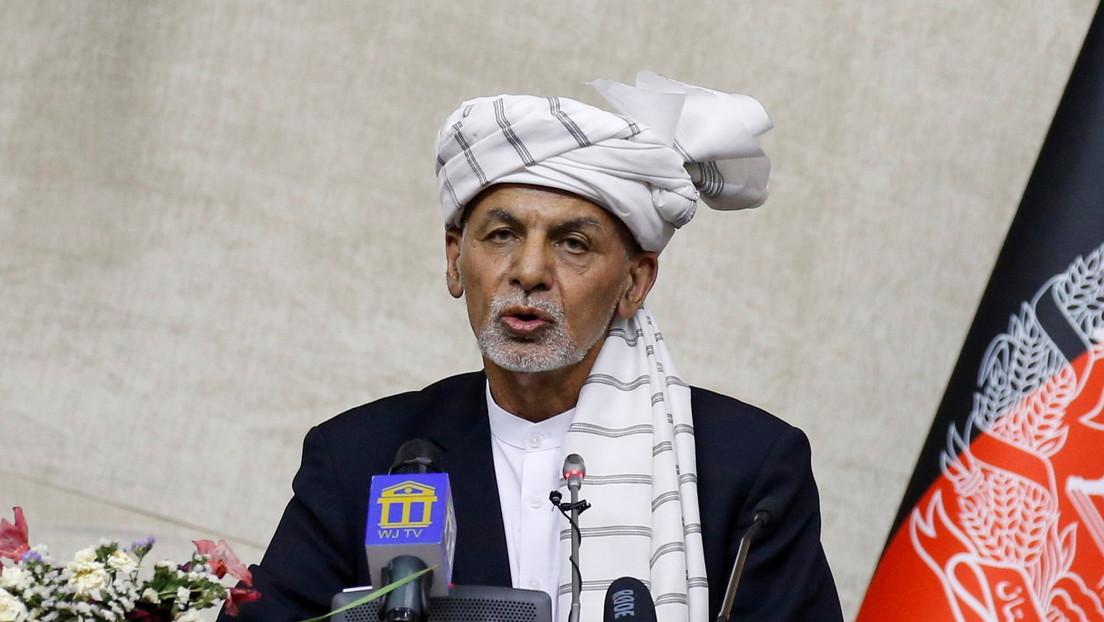 """El presidente de Afganistán culpa a la """"abrupta"""" retirada de EE.UU. del deterioro de la seguridad en el país"""