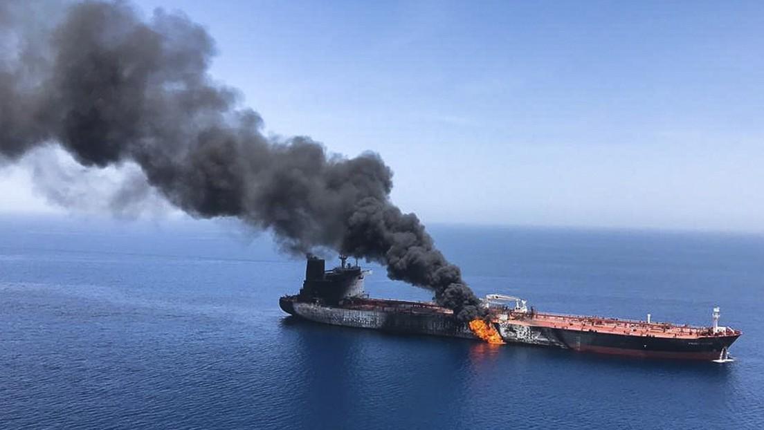"""Irán advierte que responderá """"inmediata y enérgicamente"""" a cualquier provocación tras el ataque contra un petrolero cerca de Omán"""