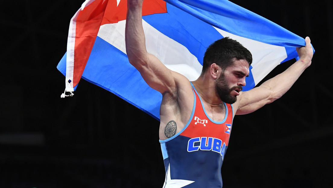 El cubano Luis Alberto Orta se corona como campeón olímpico en lucha grecorromana en Tokio 2020