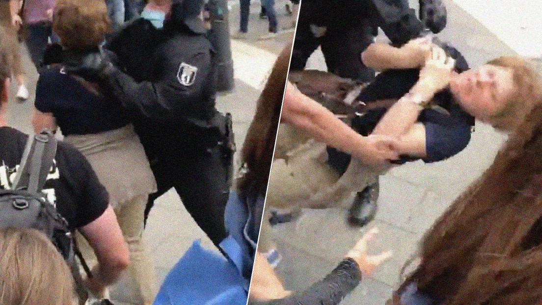 Video de un policía que lanza una mujer al piso en Berlín llama la atención del relator de la ONU sobre torturas
