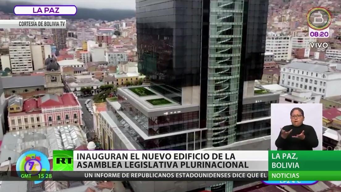Bolivia: Inauguran el nuevo edificio de la Asamblea Legislativa Plurinacional