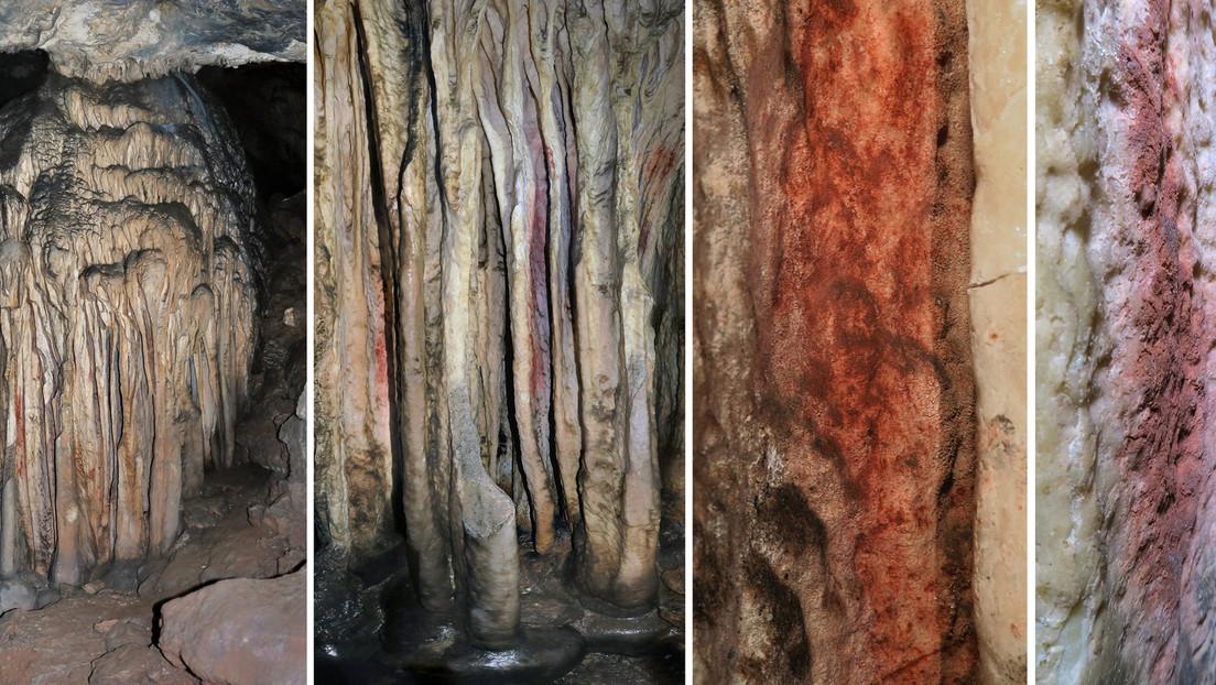Confirman que los neandertales pintaron arte rupestre en una cueva de España hace más de 64.000 años