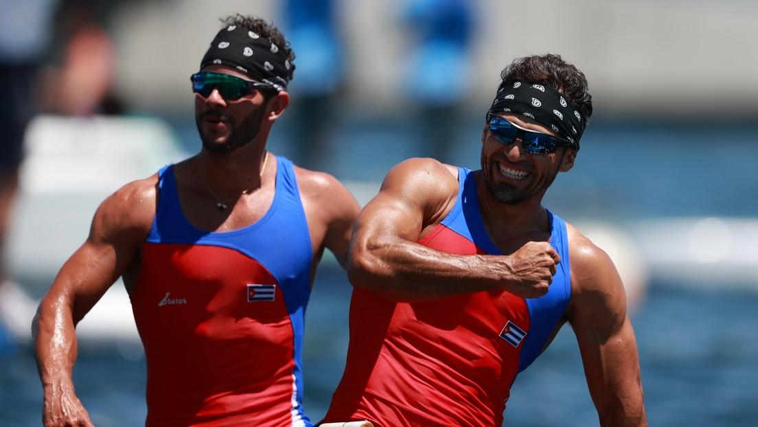 Los cubanos Serguey Torres Madrigal y Fernando Dayan Jorge Enríquez ganan el oro en piragüismo en esprint