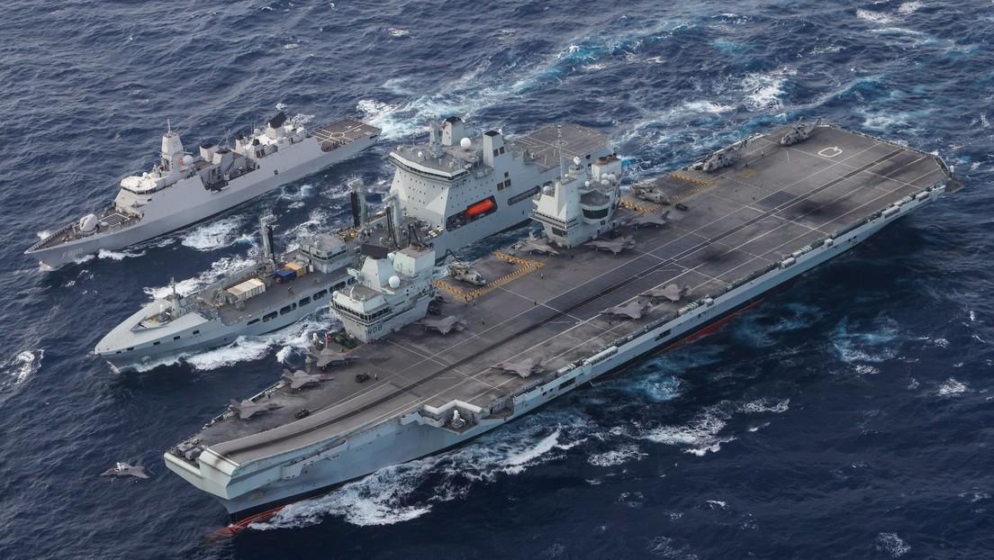 Arrancan los ejercicios navales más grandes de EE.UU. desde los tiempos de la Guerra Fría