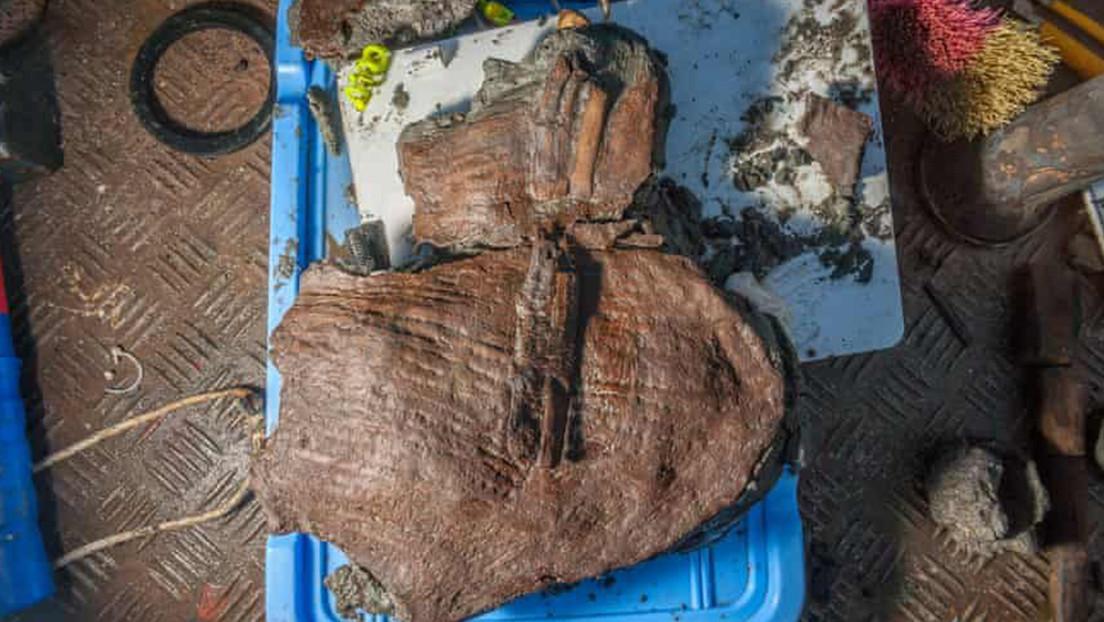 Arqueólogos encuentran cestas de frutas del siglo IV a.C. entre ruinas sumergidas en Egipto