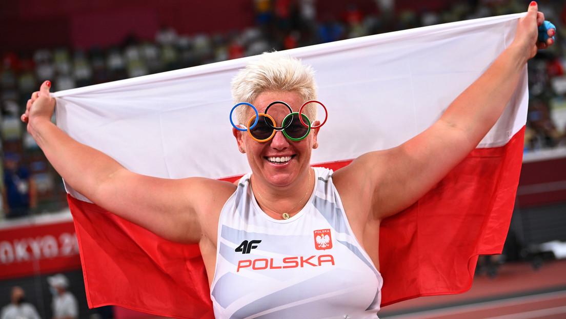 Anita Wlodarczyk, primera mujer que gana tres oros en tres Juegos Olímpicos consecutivos en una sola prueba