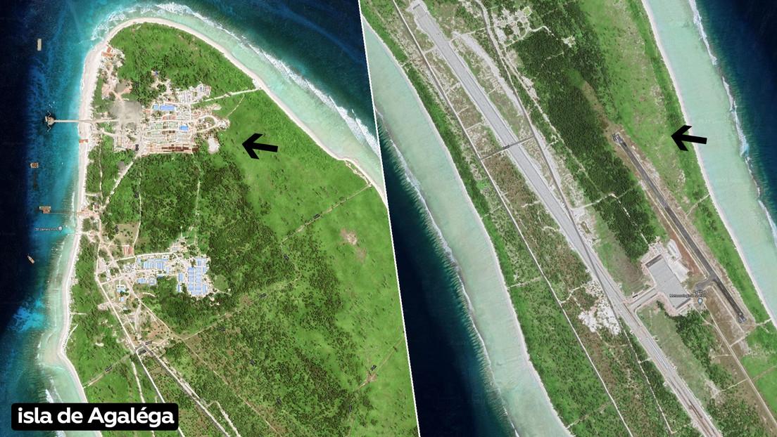 La India estaría construyendo una base naval secreta en una remota isla de Mauricio para contrarrestar a China