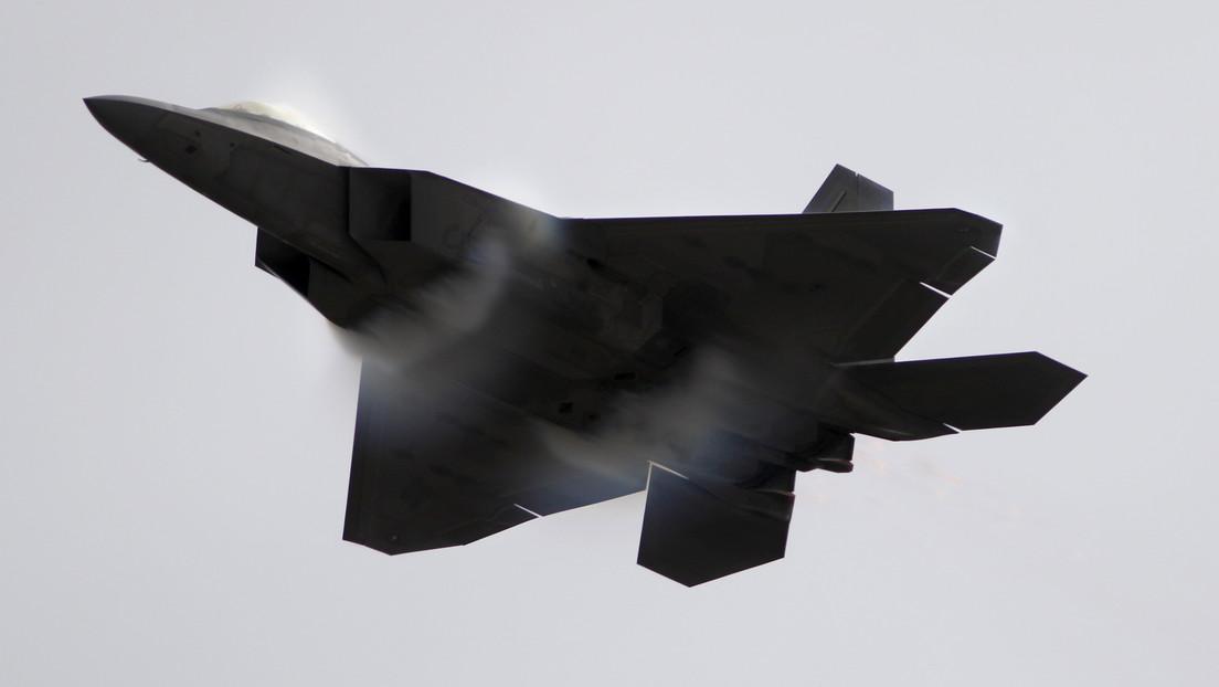 La Fuerza Aérea de EE.UU. revela las causas del misterioso accidente de su caza de quinta generación F-22 en Florida