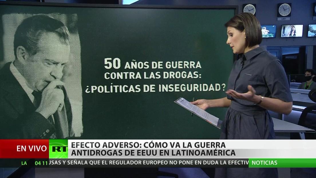 Efecto adverso: Cómo avanza la guerra antidrogas de EE.UU. en América Latina