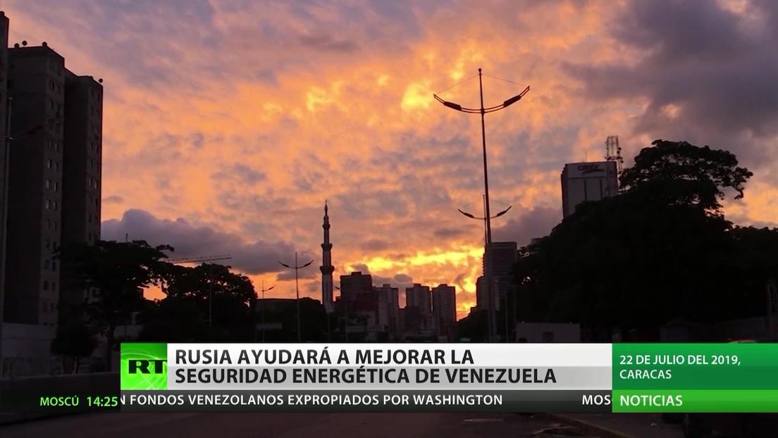 Rusia ayudará a garantizar la seguridad energética de Venezuela