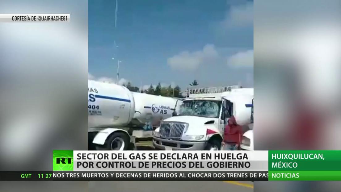 México: Sector de gas se declara en huelga por control de precios del Gobierno