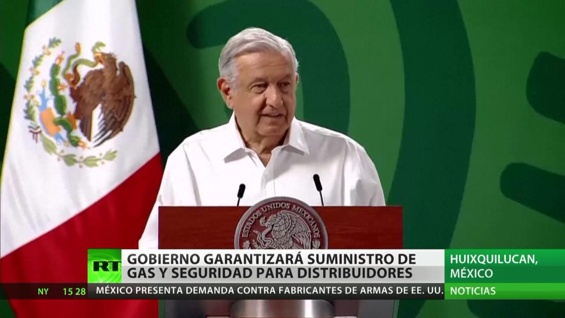 El Gobierno de México garantizará el suministro de gas y la seguridad para los distribuidores en medio de la huelga