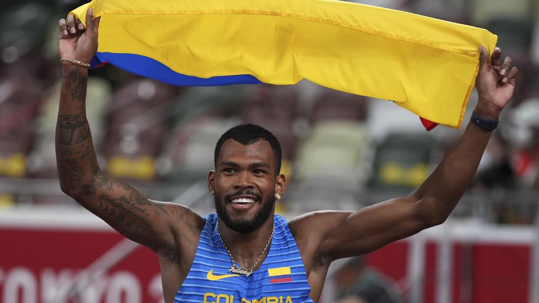 Anthony Zambrano gana medalla de plata en Tokio 2020 en los 400 metros planos, la primera del atletismo masculino para la historia de Colombia