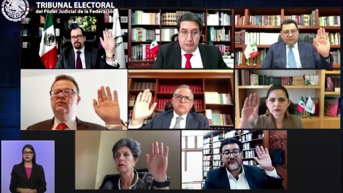 """Destituyen al titular del Tribunal Electoral en México y López Obrador lanza una polémica propuesta para resolver la """"degradante"""" crisis"""