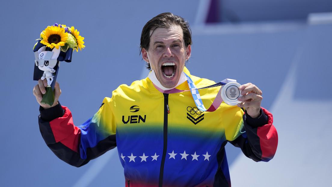 """""""¡Supérenlo!"""": El llamado de un atleta olímpico venezolano ante los ataques que recibió en redes por hablar con Maduro"""