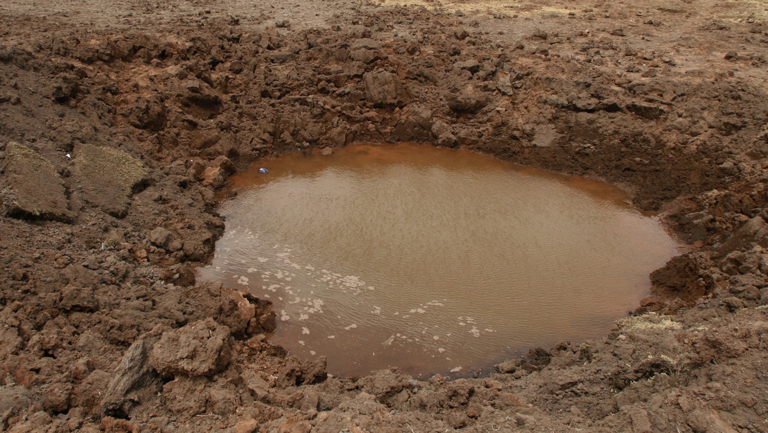 FOTO: Localizan en China el cráter más grande dejado por un meteorito en los últimos 100.000 años