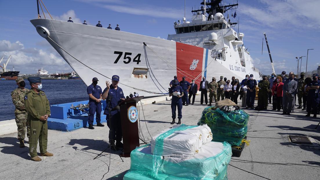 La Guardia Costera de EE.UU. incauta un alijo récord de marihuana y de cocaína por valor de 1.400 millones de dólares (FOTOS)