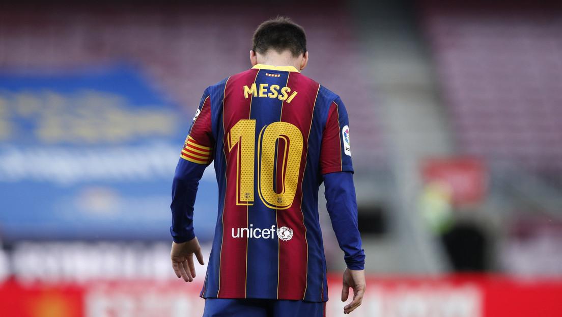 """El presidente del F.C. Barcelona explica la salida de Messi: """"No estoy dispuesto a hipotecar al club por nadie"""" (VIDEO)"""