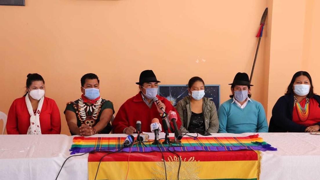 """El movimiento indígena de Ecuador tilda de """"prepotente"""" al presidente Lasso y lo acusa de cerrar """"toda opción de diálogo"""""""