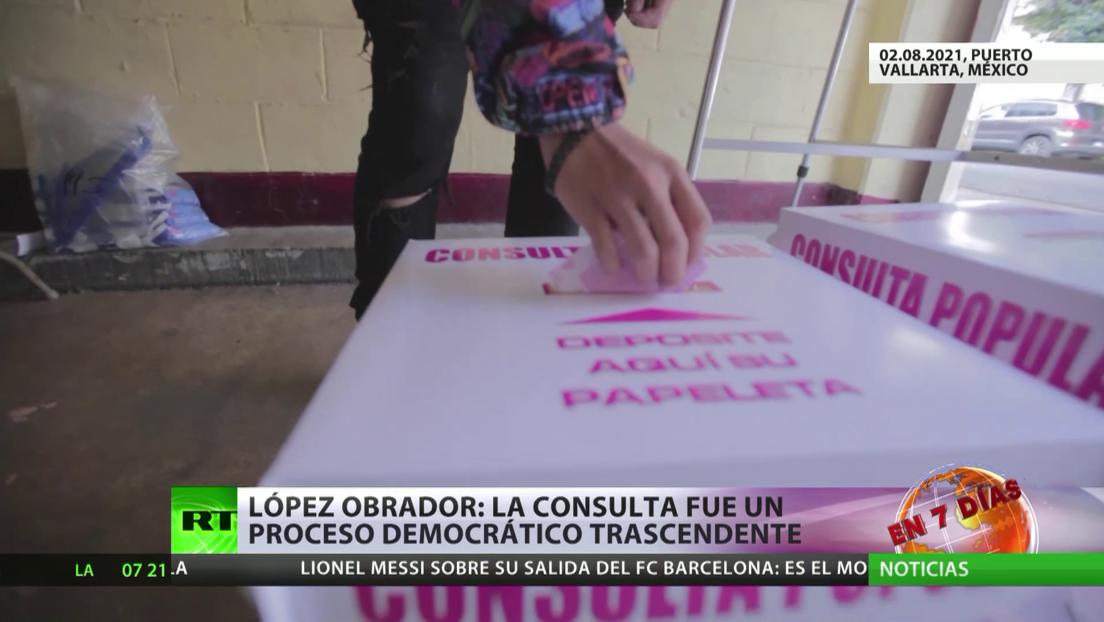 México: Votantes apoyan enjuiciar a expresidentes, pero hubo escasa participación