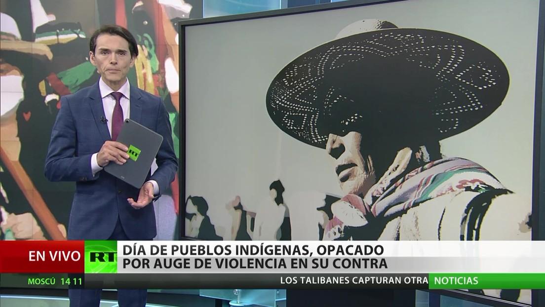 Día de los Pueblos Indígenas, opacado por un aumento de violencia en su contra