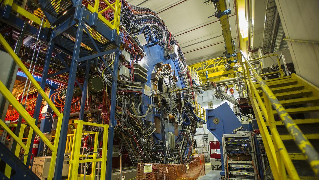 Físicos consiguen extraer los pares materia-antimateria de las partículas de luz que acompañan al oro