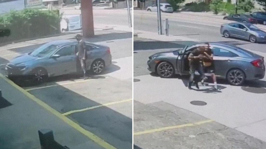 VIDEO: Un ladrón intenta robar el coche de un luchador de la UFC y de inmediato descubre por qué fue mala idea
