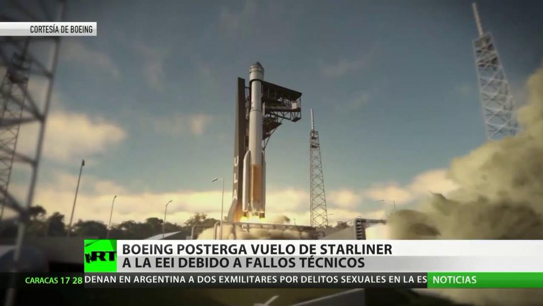 Boeing posterga el vuelo de Starliner a la EEI debido a fallos técnicos