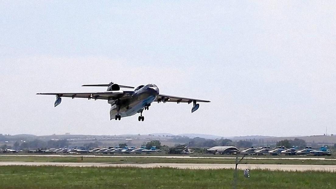 Un avión contra incendios con 8 personas a bordo se estrella al este de Turquía