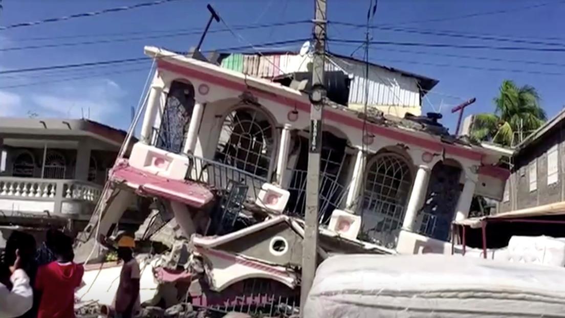 El devastador terremoto de magnitud 7,2 en Haití deja más de 300 muertos y casi 2.000 heridos