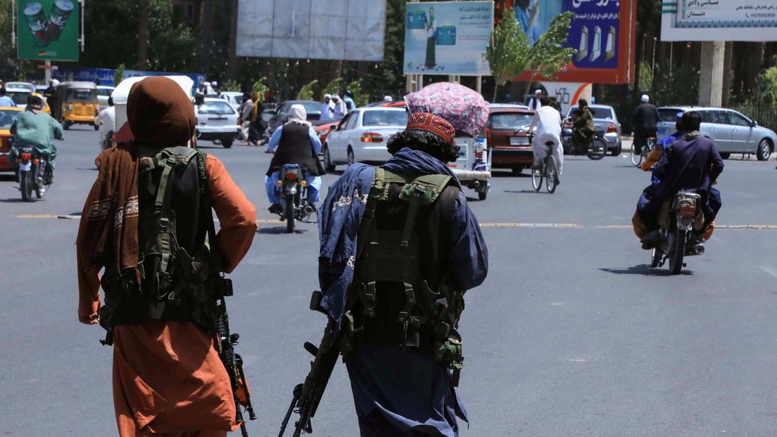 Los talibanes anuncian que han tomado el control de todo el territorio de Afganistán