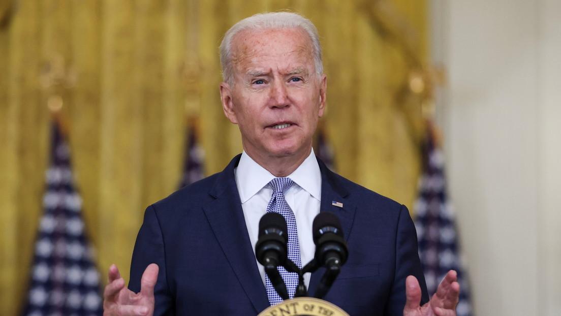 """Biden afirma que la """"construcción de una nación"""" nunca fue el objetivo de EE.UU. en Afganistán"""