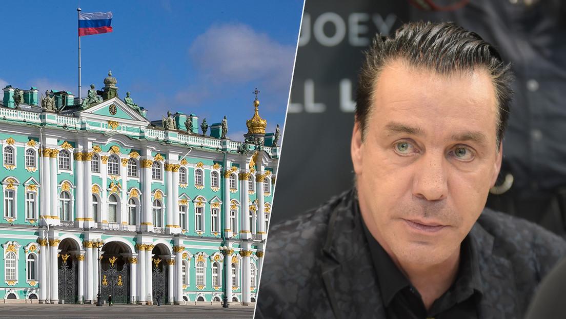 El Hermitage acusa al vocalista de Rammstein de uso ilegal de sus obras de arte