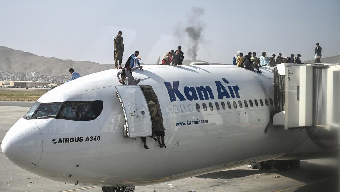 """Presidente de Alemania: """"Las imágenes de desesperación en Kabul son vergonzosas para Occidente"""""""