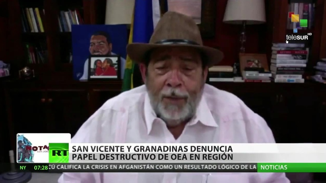 San Vicente y las Granadinas denuncia el papel destructivo de la OEA en la región