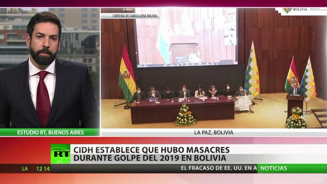 CIDH establece que hubo masacres durante el golpe de Estado de 2019 en Bolivia