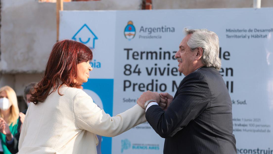 """""""No te pongas nervioso y metele para adelante"""": Las palabras de Cristina Kirchner para Alberto Fernández ante las críticas por la fiesta en su casa"""