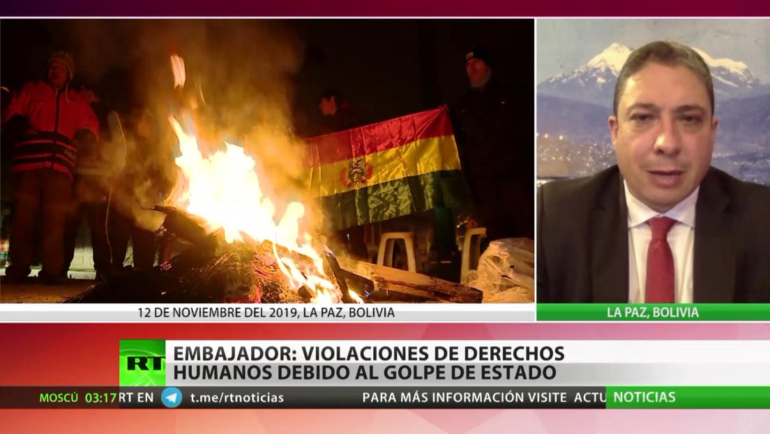 Embajador de Bolivia ante la OEA: Durante el golpe de Estado de 2019 se cometieron gravísimas violaciones a los DDHH