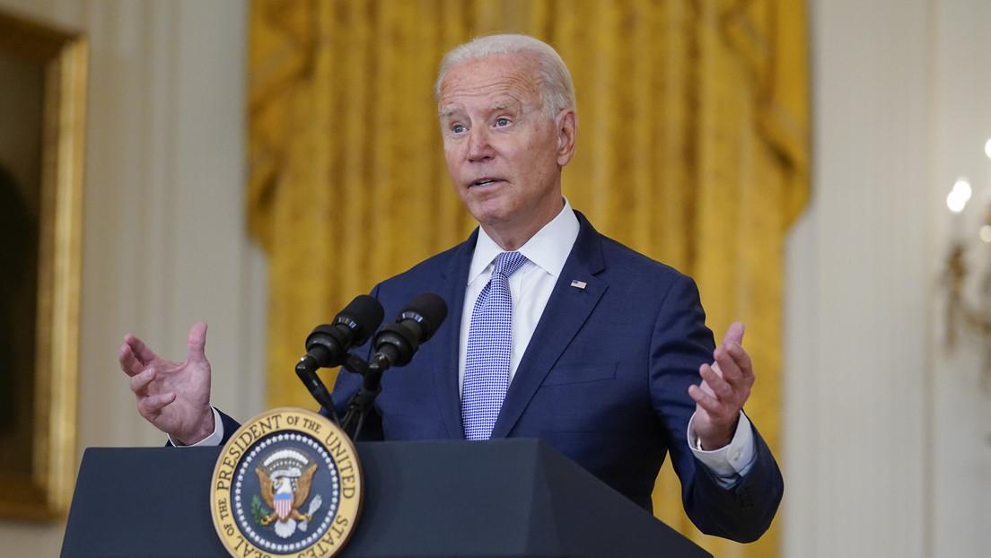 El índice de aprobación de Biden llega a su punto más bajo tras la llegada al poder de los talibanes