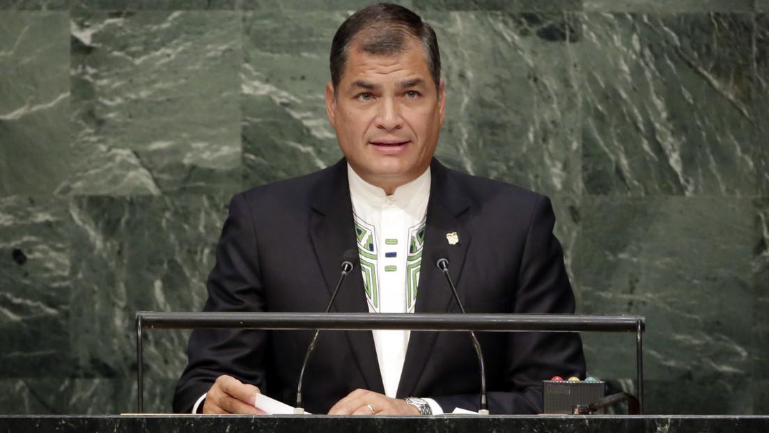 Interpol niega por tercera vez la petición de la Justicia ecuatoriana de emitir alerta roja en contra del expresidente Rafael Correa