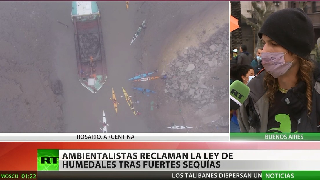 Argentina: Ambientalistas reclaman la Ley de humedales tras fuertes sequías