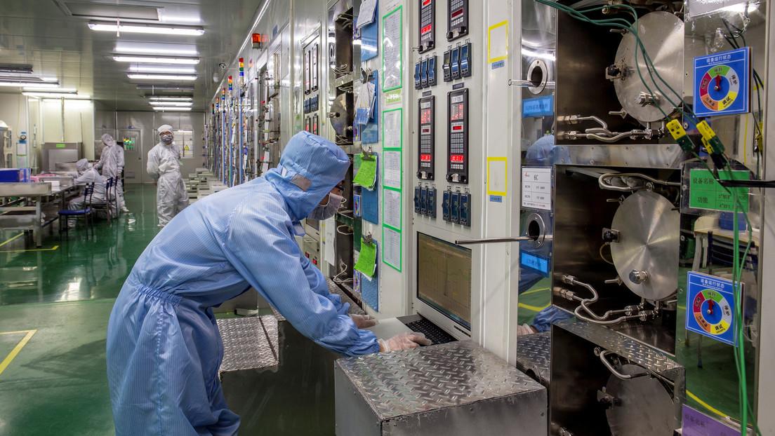 China aumenta en 47,3 % la producción de circuitos integrados y rompe un nuevo récord