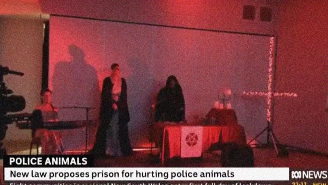 Una cadena australiana transmite por error escenas de un rito satánico (VIDEO)