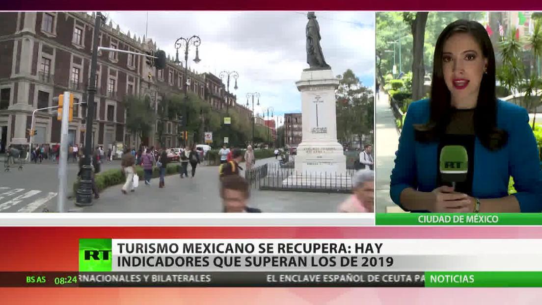 El turismo mexicano se recupera con indicadores que superan a los de 2019