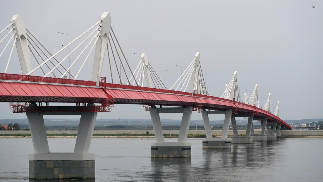 Concluyen las obras del primer puente ferroviario entre Rusia y China