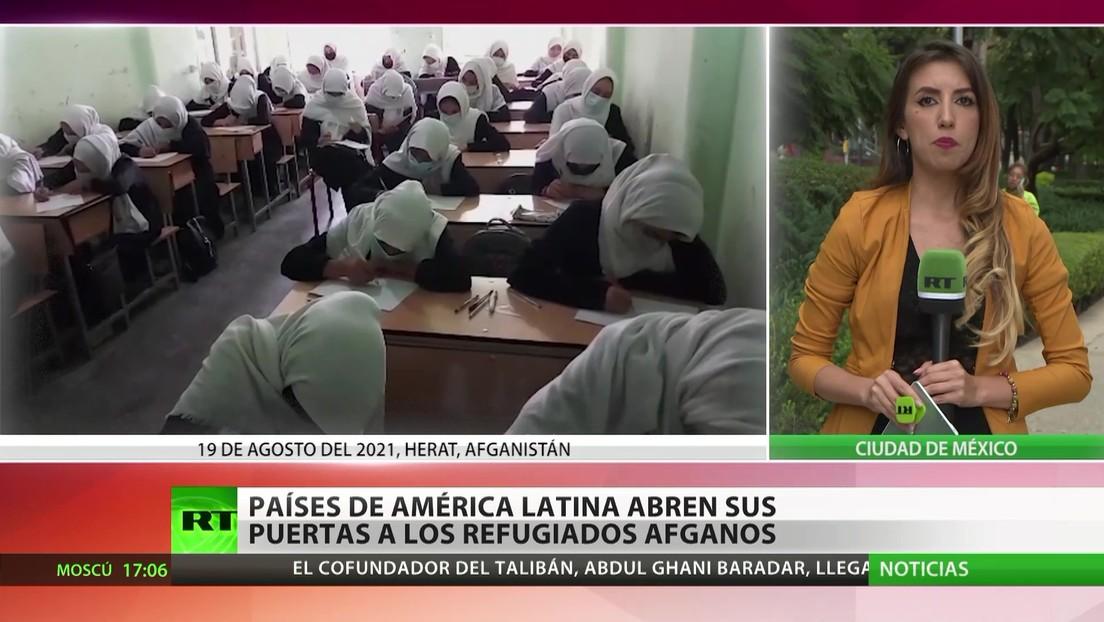 Países de América Latina abren sus puertas a refugiados afganos